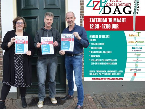 Eerste ZZP/kleine ondernemers dag succesvol verlopen