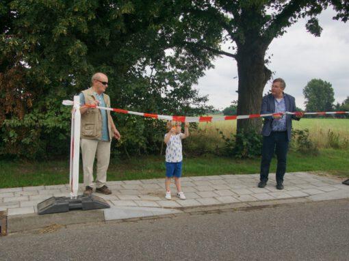 Voetpad De Heurne officieel in gebruik genomen